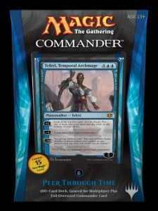 Five new mono-color Commander decks coming November 7th, 2014!