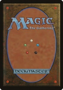mtg card back