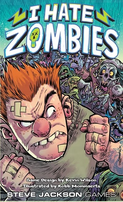 I hate zombies box art
