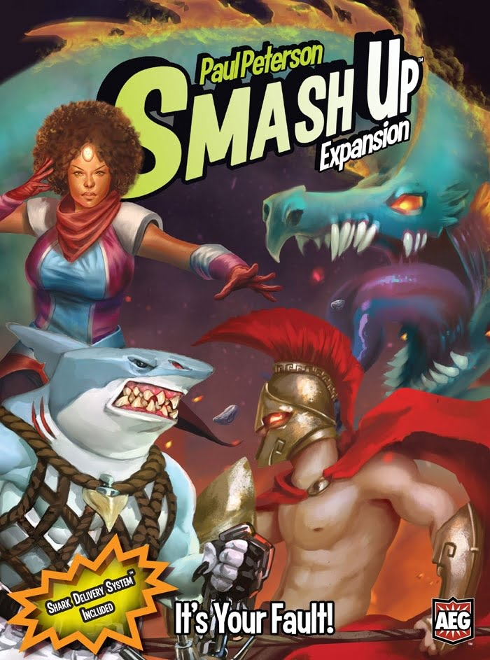 Smash Up Its Your Fault Box Art