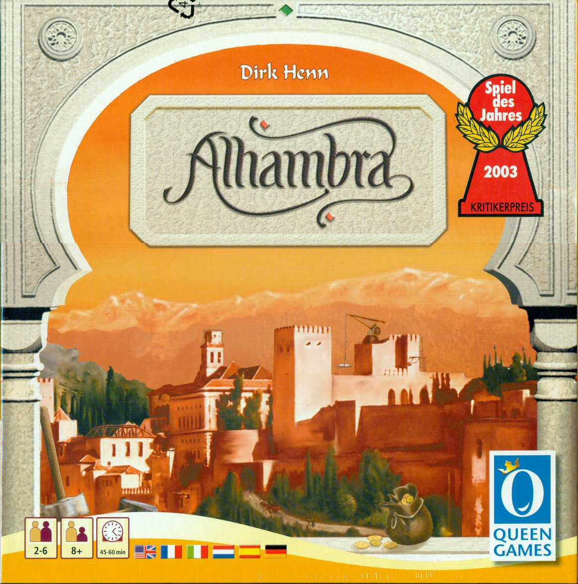 alhambra board game box