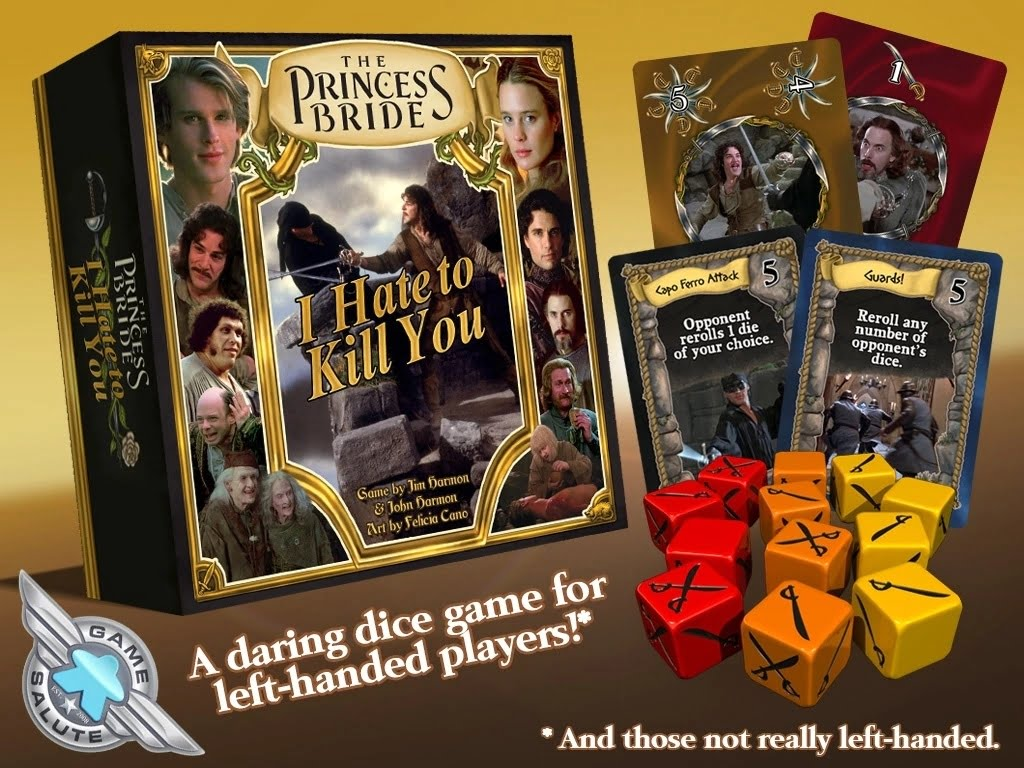 princess bride dice game